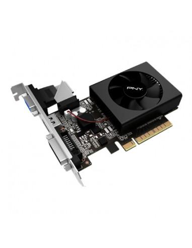 PNY VCGGT7102XPB näytönohjain NVIDIA GeForce GT 710 2 GB GDDR3 Pny VCGGT7102XPB - 1