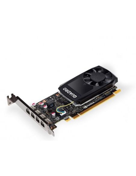 PNY VCQP1000DVIBLK-1 näytönohjain NVIDIA Quadro P1000 4 GB GDDR5 Pny VCQP1000DVIBLK-1 - 1