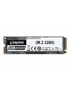 Kingston Technology KC2000 M.2 500 GB PCI Express 3.0 3D TLC NVMe Kingston SKC2000M8/500G - 1