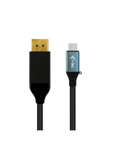 i-tec C31CBLDP60HZ2M videokaapeli-adapteri 2 m USB Type-C DisplayPort Musta I-tec Accessories C31CBLDP60HZ2M - 1