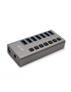i-tec USB 3.0 Charging HUB 7port + Power Adapter 36 W I-tec Accessories U3CHARGEHUB7 - 1
