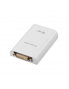 i-tec Advance USB2HDTRIO USB grafiikka-adapteri 1920 x 1080 pikseliä Valkoinen I-tec Accessories USB2HDTRIO - 1