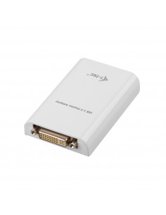 i-tec Advance USB3HDTRIO USB-grafikadapter 2048 x 1152 pixlar Vit I-tec Accessories USB3HDTRIO - 1