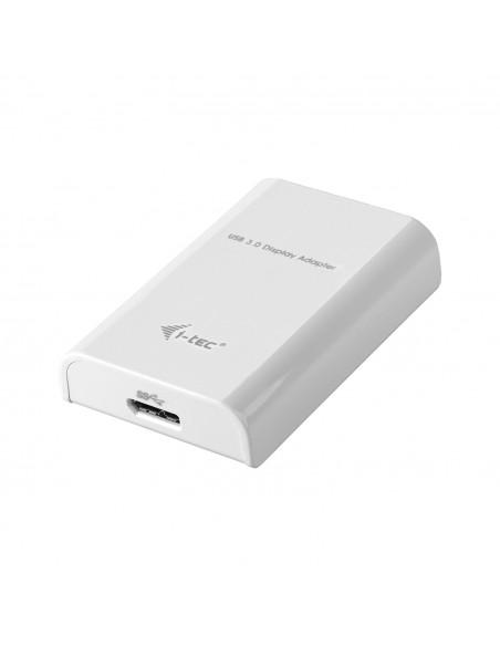 i-tec Advance USB3HDTRIO USB grafiikka-adapteri 2048 x 1152 pikseliä Valkoinen I-tec Accessories USB3HDTRIO - 2