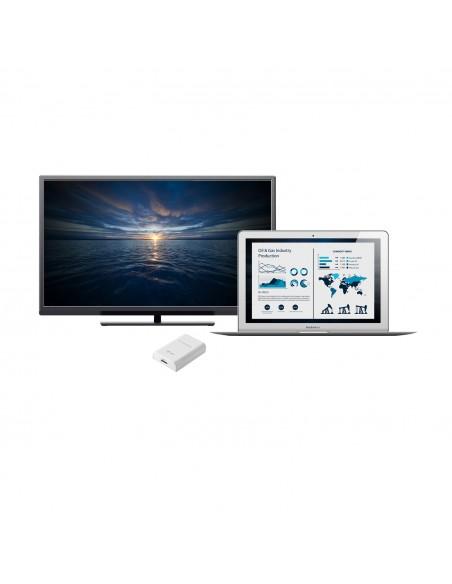 i-tec Advance USB3HDTRIO USB grafiikka-adapteri 2048 x 1152 pikseliä Valkoinen I-tec Accessories USB3HDTRIO - 7