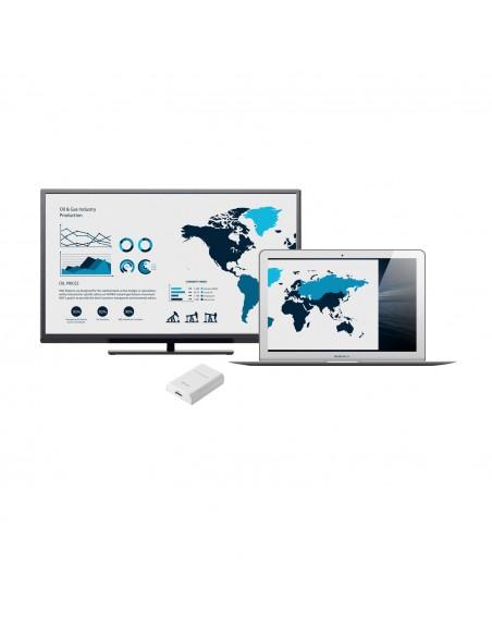 i-tec Advance USB3HDTRIO USB grafiikka-adapteri 2048 x 1152 pikseliä Valkoinen I-tec Accessories USB3HDTRIO - 8