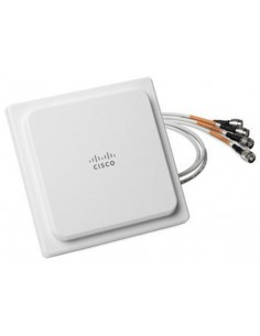 Cisco AIR-ANT2524V4C-R= network antenna Omni-directional RP-TNC 4 dBi Cisco AIR-ANT2524V4C-R= - 1