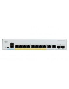 Cisco Catalyst C1000-8P-2G-L network switch Managed L2 Gigabit Ethernet (10/100/1000) Power over (PoE) Grey Cisco C1000-8P-2G-L