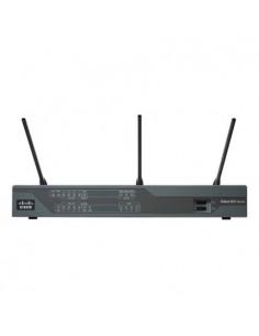 Cisco C897VA-K9 Gigabitti Ethernet Musta langaton reititin Cisco C897VA-K9 - 1