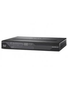 Cisco C897VAM-W-E-K9 langaton reititin Gigabitti Ethernet Kaksitaajuus (2,4 GHz/5 GHz) Musta Cisco C897VAM-W-E-K9 - 1