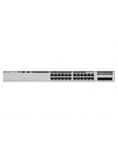 Cisco Catalyst 9200L Unmanaged L3 Gigabit Ethernet (10/100/1000) Grey Cisco C9200L-24T-4X-E - 1