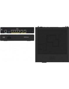 Cisco C921-4P verkkokytkin Hallittu Musta Cisco C921-4P - 1