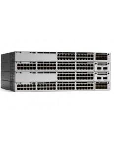 Cisco Catalyst C9300-48P-A nätverksswitchar hanterad L2/L3 Gigabit Ethernet (10/100/1000) Strömförsörjning via (PoE) stöd Grå Ci