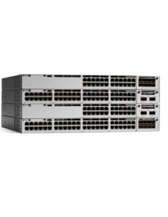 Cisco Catalyst C9300-48P-E nätverksswitchar hanterad L2/L3 Gigabit Ethernet (10/100/1000) Strömförsörjning via (PoE) stöd Grå Ci