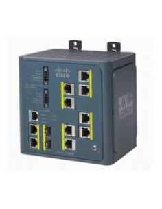 Cisco IE-3000-8TC-E network switch Managed L3 Fast Ethernet (10/100) Black Cisco IE-3000-8TC-E - 1