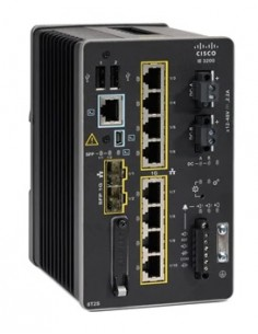 Cisco Catalyst IE-3200-8T2S-E nätverksswitchar hanterad L2/L3 Gigabit Ethernet (10/100/1000) Svart Cisco IE-3200-8T2S-E - 1