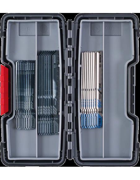 Bosch 2 607 010 903 sågblad till sticksåg, dekupörsåg och tigersåg Figursågblad 30 styck Bosch 2607010903 - 2