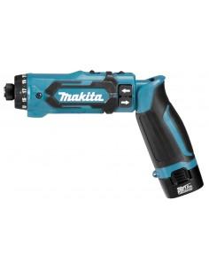 Makita DF012DSE sähköruuvimeisseli ja iskuruuvitaltta 650. 200 Musta, Sininen Makita DF012DSE - 1
