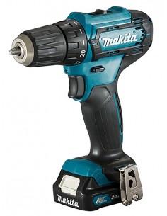 Makita DF333DSAE borr 1700 RPM utan nyckel 1.2 kg Svart, Blå Makita DF333DSAE - 1