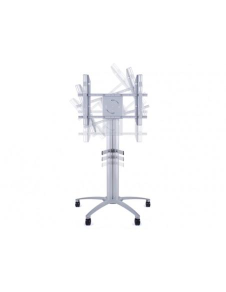 Multibrackets M Public Display Stand 145 Single Silver Multibrackets 7350022735385 - 8