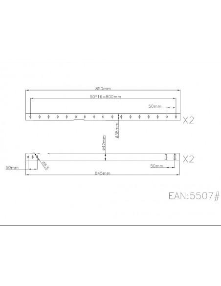 Multibrackets 5507 tillbehör till bildskärmsfäste Multibrackets 7350022735507 - 2
