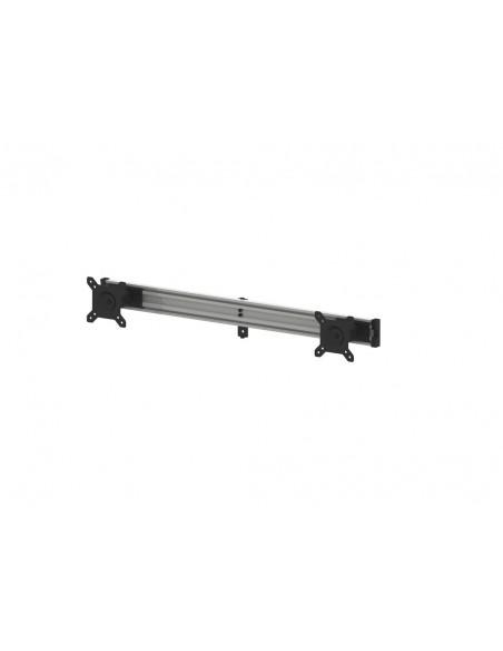 "Multibrackets M Public Display Stand Dual Screen Mount 15""-32"" Silver Multibrackets 7350022736344 - 3"