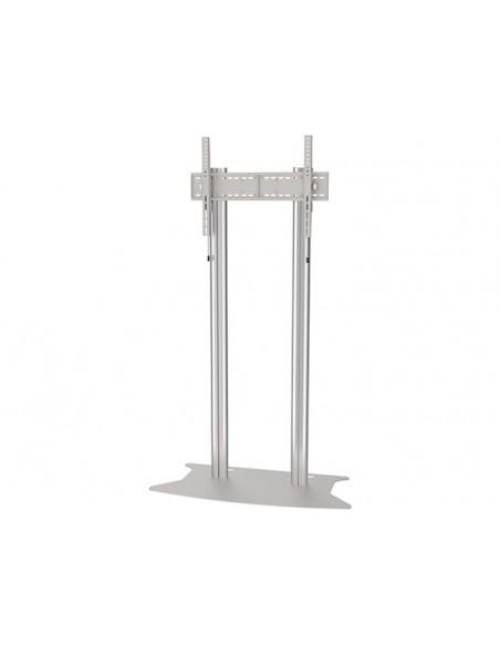 Multibrackets M Public Display Stand 210 Dual Pillar Floorbase Silver Multibrackets 7350073732562 - 2