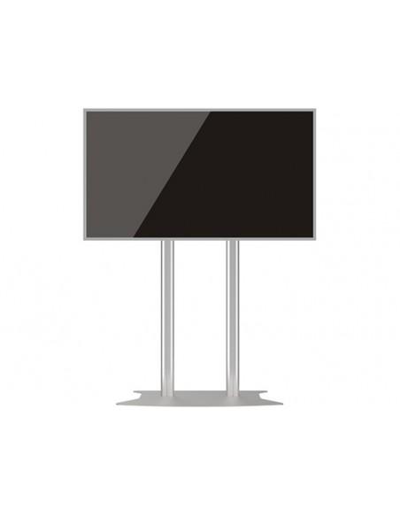 Multibrackets M Public Display Stand 210 Dual Pillar Floorbase Silver Multibrackets 7350073732562 - 6