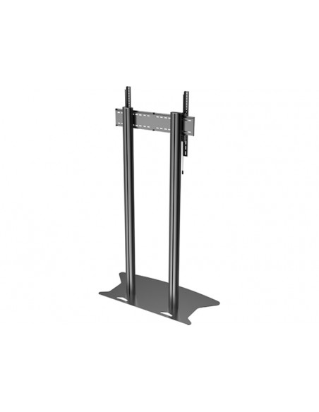 Multibrackets M Public Display Stand 210 Dual Pillar Floorbase Black Multibrackets 7350073732586 - 4