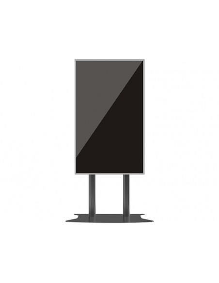 Multibrackets M Public Display Stand 210 Dual Pillar Floorbase Black Multibrackets 7350073732586 - 7