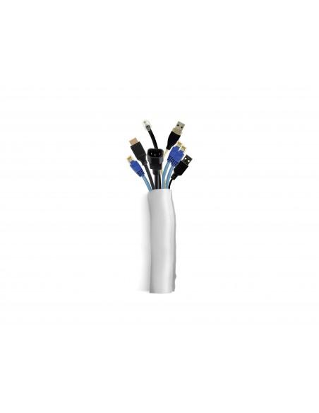 Multibrackets 2814 kabelsamlare Kabelstrumpa Silver 1 styck Multibrackets 7350073732814 - 1