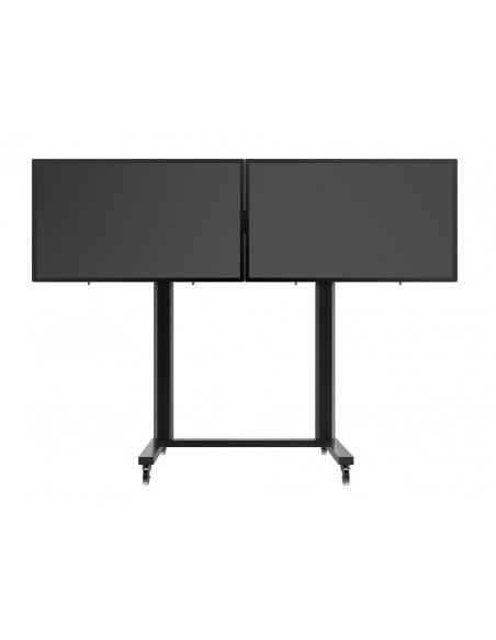 "Multibrackets M Public Display Stand 210 Dual Screen 50""-77"" Black Multibrackets 7350073733019 - 4"