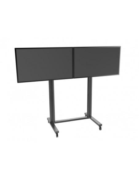 "Multibrackets M Public Display Stand 210 Dual Screen 50""-77"" Black Multibrackets 7350073733019 - 5"