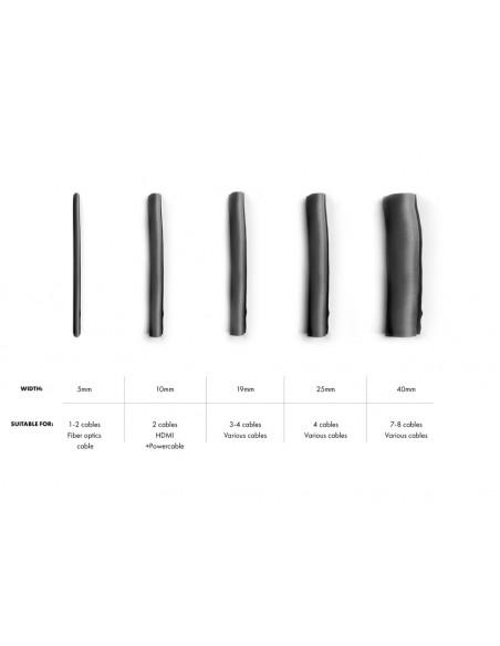 Multibrackets M Universal Cable Sock Self Wrapping 5mm Black 25m Multibrackets 7350073733217 - 4