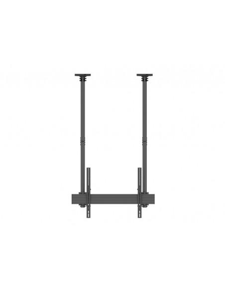 """Multibrackets 5785 fäste för skyltningsskärm 2.54 m (100"""") Svart Multibrackets 7350073735785 - 2"""