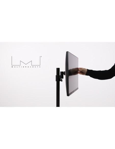 """Multibrackets 5822 monitorin kiinnike ja jalusta 76.2 cm (30"""") Puristin/Läpipultattu Musta Multibrackets 7350073735822 - 7"""