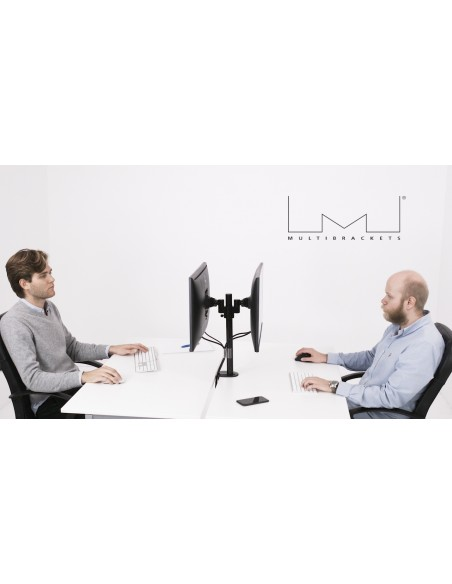 """Multibrackets 5860 monitorin kiinnike ja jalusta 76.2 cm (30"""") Puristin/Läpipultattu Musta Multibrackets 7350073735860 - 7"""