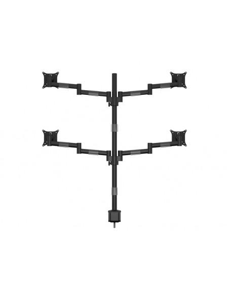 """Multibrackets 5891 monitorin kiinnike ja jalusta 76.2 cm (30"""") Puristin/Läpipultattu Musta Multibrackets 7350073735891 - 4"""