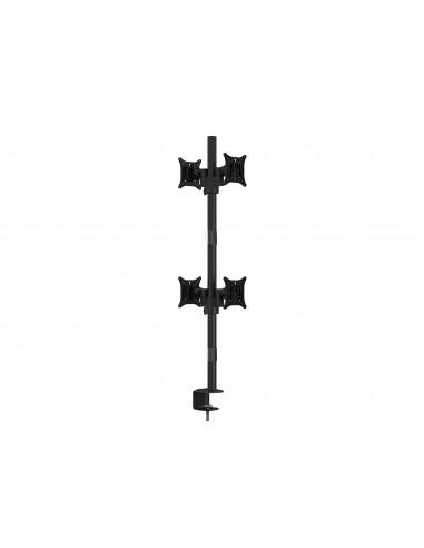 """Multibrackets 5907 monitorin kiinnike ja jalusta 76.2 cm (30"""") Puristin/Läpipultattu Musta Multibrackets 7350073735907 - 1"""