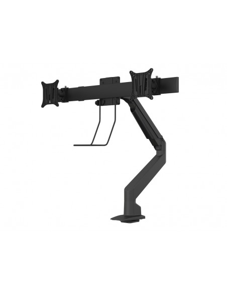 Multibrackets M VESA Gas Lift Arm Single Black w. Duo Crossbar Multibrackets 7350073735921 - 3