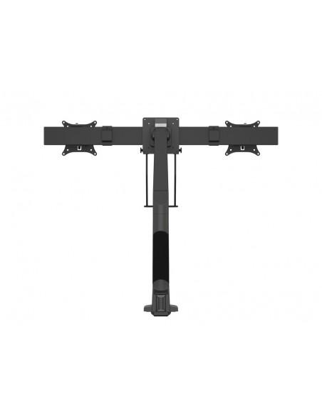 Multibrackets M VESA Gas Lift Arm Single Black w. Duo Crossbar Multibrackets 7350073735921 - 4