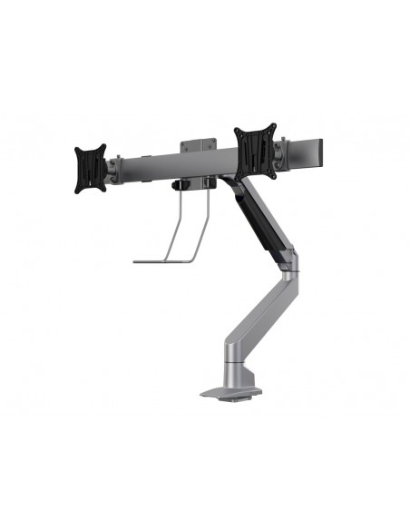 Multibrackets M VESA Gas Lift Arm Single Silver w. Duo Crossbar Multibrackets 7350073735938 - 3