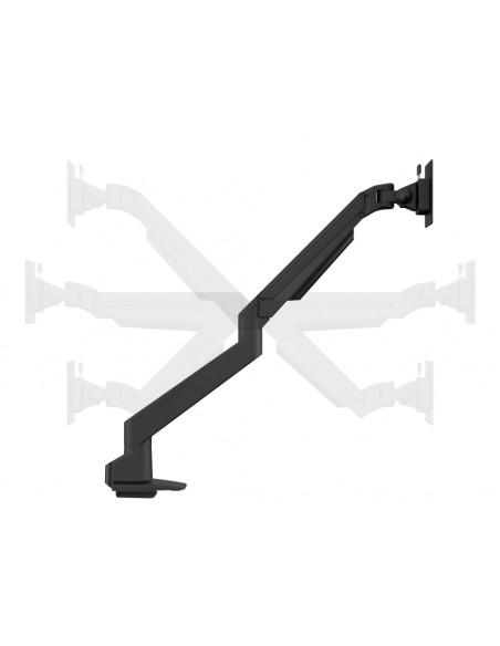 Multibrackets M VESA Gas Lift Arm Single Silver w. Duo Crossbar Multibrackets 7350073735938 - 10