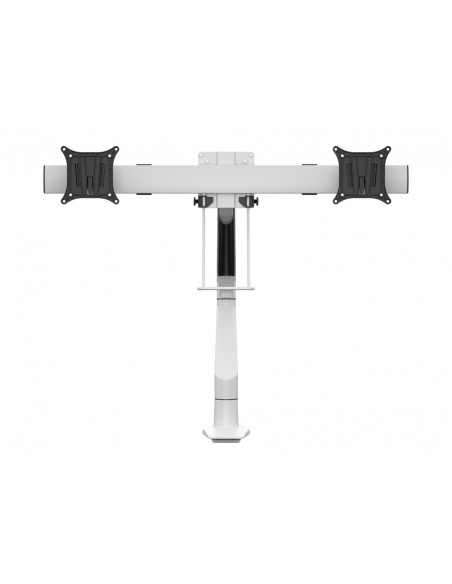 Multibrackets M VESA Gas Lift Arm Single White w. Duo Crossbar Multibrackets 7350073735945 - 2