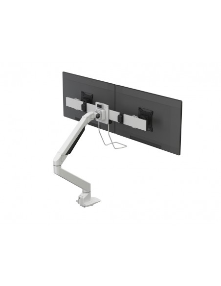 Multibrackets M VESA Gas Lift Arm Single White w. Duo Crossbar Multibrackets 7350073735945 - 8