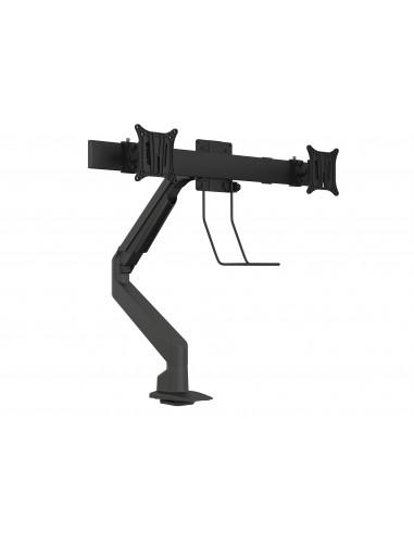 Multibrackets M VESA Gas Lift Arm Single Black HD w. Duo Crossbar Multibrackets 7350073735952 - 1