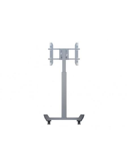 Multibrackets M Motorized Display Stand Wheelbase Silver Multibrackets 7350073736096 - 4