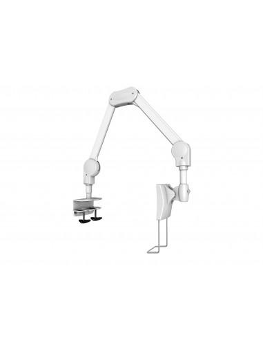 """Multibrackets 8816 monitorin kiinnike ja jalusta 68.6 cm (27"""") Puristin/Läpipultattu Valkoinen Multibrackets 7350073738816 - 1"""