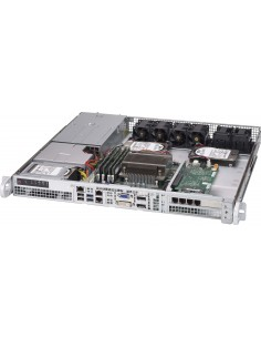 Supermicro CSE-515-R407 tietokonekotelo Teline Hopea 400 W Supermicro CSE-515-R407 - 1