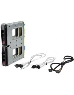 "Supermicro MCP-220-84610-0N drive bay panel 2x 2.5"" Storage tray Black Supermicro MCP-220-84610-0N - 1"